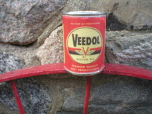VEEDOL MOTOR OIL CAN BANK