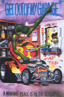 RAT FINK GET OUT OF MY GARAGE SIGN 17