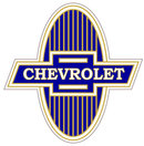 CHEVROLET BOW TIE HEAVY STEEL SIGN 11