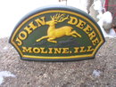 JOHN DEERE MOLINE ILLINOIS DOORSTOP CAST IRON