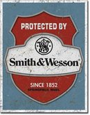 SMITH & WESSON SINCE 1882 METAL SIGN