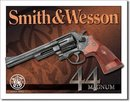 SMITH & WESSON MAGNUM 44 METAL SIGN