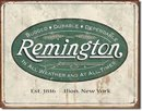 REMINGTON RIFLES PISTOLS SHOTGUNS VINTAGE REPLICA METAL SIGN