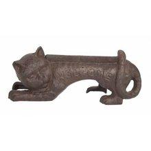 RUSTIC CAT WELOME BOOT SCRAPER