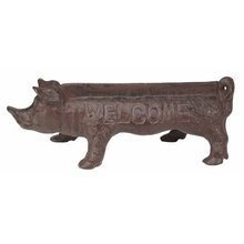 PIG FOOT SCRAPER CAST IRON