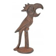 RUSTIC BROWN PARROT BOTTLE OPENER P