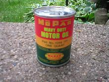 MOPAR HEAVY DUTY MOTOR OIL CAN BANK NEW