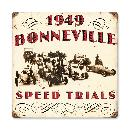 1949 BONNEVILLE HEAVY METAL VINTAGE SIGN