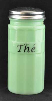 JADE TEA CANISTER FRENCH
