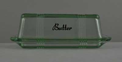 LIGHT GREEN ONE STICK BUTTERDISH