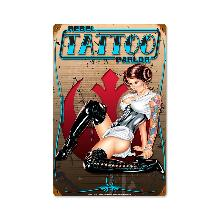 TATTOO PARLOR HEAVY METAL SIGN
