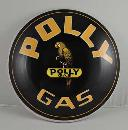 POLLY GAS HEAVY METAL DOME SIGN 12