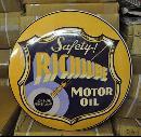 RICHLUBE MOTOR OIL BIG RETRO DOME SIGN 24