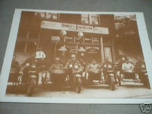 HARLEY DAVIDSON PRINT PICTURE