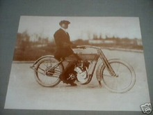 HARLEY DAVIDSON MOTORCYCLE PRINT PICTURE