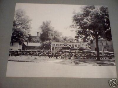 OK USED CARS CAR LOT 1930
