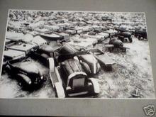 PEDAL CAR JUNKYARD PRINT PICTURE