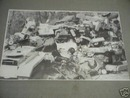 PEDAL CAR SCRAPYARD PRINT PICTURE