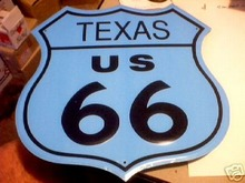ROUTE 66 - TEXAS - SIGN