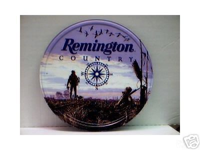 REMINGTON COUNTRY TIN SIGN