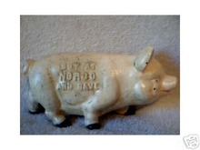 CAST IRON NORCO PIG