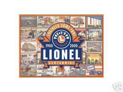 LIONEL CENTENNIAL SIGN