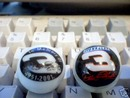 DALE EARNHARDT GLASS MARBLES