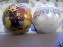 PEPSI  BOB THE BUILDER GLASS MARBLES