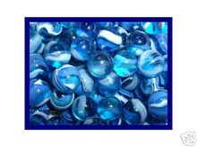 BLUE JAY MARBLES ONE BAG