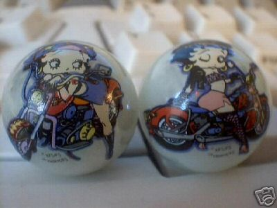 BETTY BOOP MARBLES