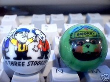 THREE STOOGES SMOKEY THE BEAR MARBLES