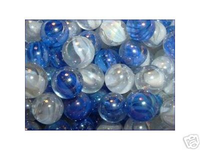 SNOWFLAKE MARBLES ONE BAG