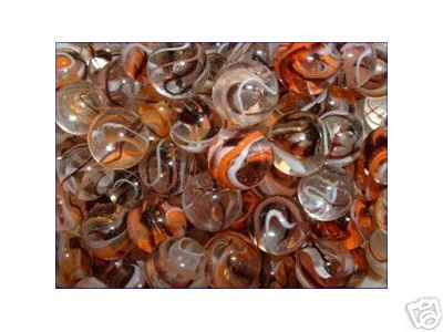 HALLOWEEN  MARBLES ONE BAG