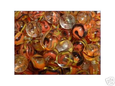 SUNFLOWER MARBLES ONE BAG