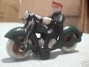 CAST IRON MOTORCYCLE - MINIATURE