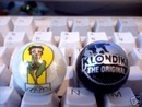KLONDIKE-BETTY BOOP LOGO MARBLES ADVERTISING MARBLE NR