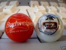 BUDWEISER BUD LIGHT GLASS LOGO MARBLES
