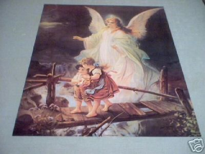 GUARDIAN ANGEL PRINT - BIG