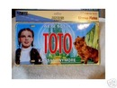 DOROTHY & TOTO METAL LICENSE PLATE