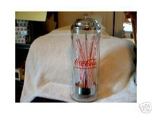 COCA-COLA STRAW HOLDER DISPENSER