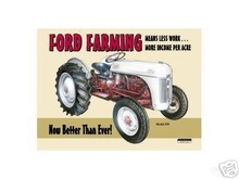 FORD FARMING TIN METAL SIGN