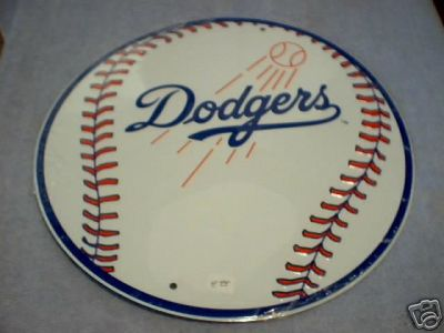DODGERS BASEBALL TEAM SIGN D