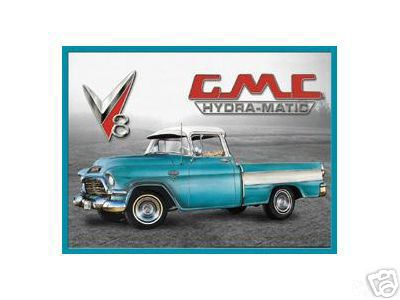 GMC HYDRA-MATIC  TIN SIGN