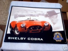 SHELBY  COBRA TIN SIGN