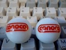TWO   CONOCO  MARBLES