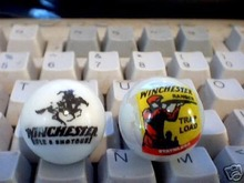 TWO   WINCHESTER  MARBLES
