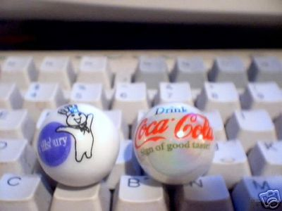 COCA-COLA   AND  PILLSBURY   MARBLES