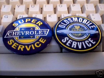 OLDSMOBILE - SUPER CHEVROLET SERVICE MAGNETS