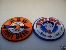 BETTY BOOP - A & W ROOTBEER MAGNETS