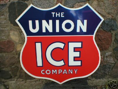 UNION ICE COMPANY SIGN